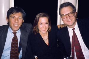 Andrea Peyser with Eric Breindel and Scott McConnell